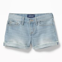 Denim Cut-Off Shorts for Girls|old-navy