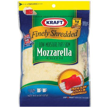 Kraft® Natural Finely Shredded Mozzarella Cheese - 8oz
