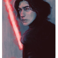 Kylo Ren Star Wars In Color - 11 x 17 poster