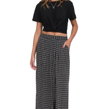 Black & White Printed Palazzo Pants at Blush Boutique Miami - ShopBlush.com : Blush Boutique Miami – ShopBlush.com
