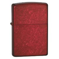 Zippo Pocket Lighter, Candy Apple Red