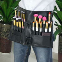 Cosmetic Makeup Brush Apron Bag Artist Belt Strap