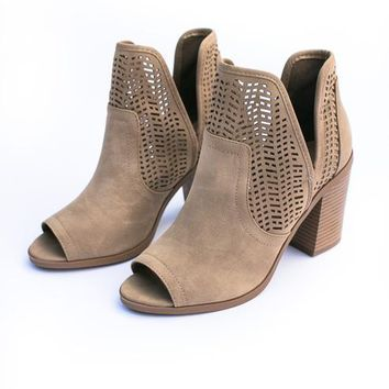 Cathy Cut Out Bootie
