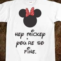Hey Mickey (Shirt) - Hey Mickey, Hey Minnie