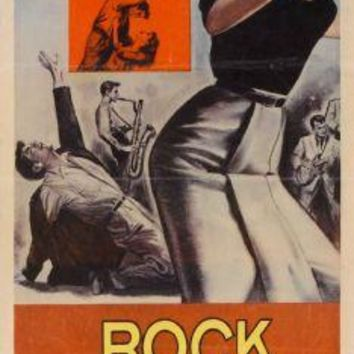 "Rock Al Lnight Poster Movie Poster Insert 14""X36"""