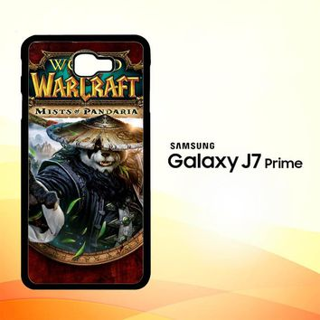 World of Warcraft Guardian Druid Mists of Pandaria Z0652 Samsung Galaxy J7 Prime Case