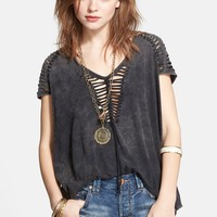 Free People 'Too Cool for School' Tee