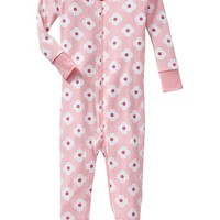 Patterned Footed Sleepers for Baby