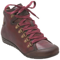 Pikolinos Lisboa 767-7557 Red Red Ankle Boot
