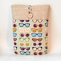 Eyeglass Laptop Sleeve Sunglass Laptop Sleeve Laptop Case Laptop Cover MacBook Sleeve 11 12 13 14 15 16 inch Dell HP Acer Asus Sony Surface