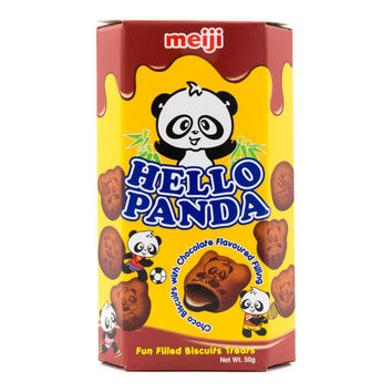 Japan Centre - Meiji Hello Panda Double Chocolate Biscuits (Singaporean) - Biscuits