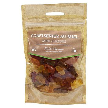 Apidis - Mini Gummy Bears with French Honey, 4.2 oz.