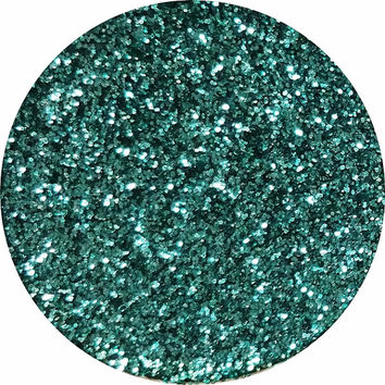 Pressed Glitter-Aqua Bloom