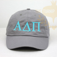 Alpha Delta Pi Sorority Baseball Cap - Greek Only | The Turnip Seed .Co