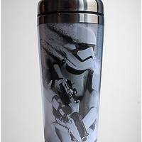 Star Wars The Force Awakens Trooper Travel Mug - Spencer's