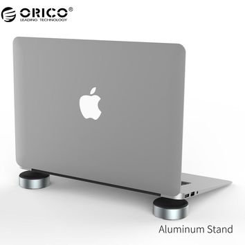 ORICO Aluminum Laptop Stand Portable Heat-dissipation Foot pad for Notebook Universal Radiator