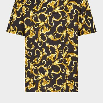 Versace Classic Baroque Print T-Shirt for Men | US Online Store