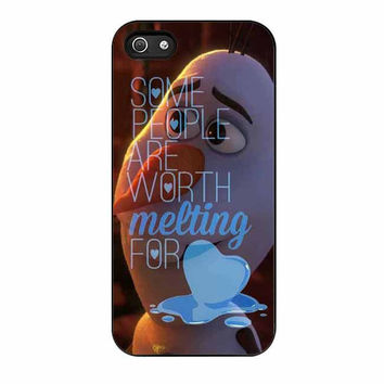 olaf disney frozen quote cases for iphone se 5 5s 5c 4 4s 6 6s plus