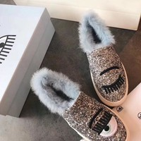 Chiara Ferragni Flirting Slip-on Flats