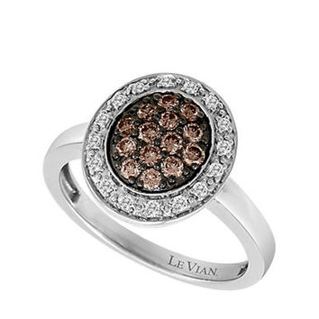 Levian Diamond Ring in 14 Kt. Vanilla Gold