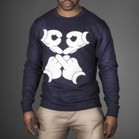 DRAKE OVOXO MICKEY HANDS SWEATSHIRT - WeHustle.co.uk | U want it WE got it | WeHustle Enterprises Limited.