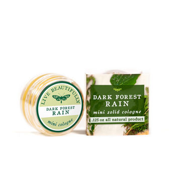 Dark Forest Rain - Mini Solid Cologne