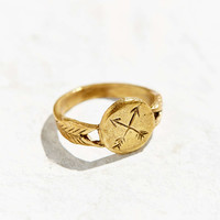 Datter Industries Crossed Arrow Ring - Urban Outfitters
