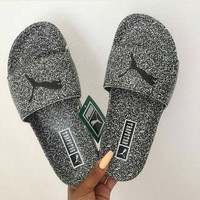PUMA Women Fashion Print Slippers Sandals Shoes
