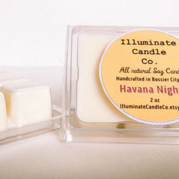 Havana Nights Soy wax melt|Wax Tarts| Handmade| Soy Wax| Gifts for her| scented