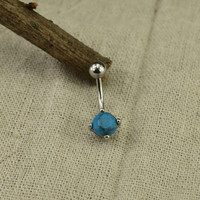 bellybutton ring turquoise belly button ring turquoise stone belly button piercing,navel ring