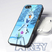 Olaf  Snowman Frozen available for iPhone 4/4s, 5/5c/5s Case, Samsung Galaxy S3/S4/S5 Case