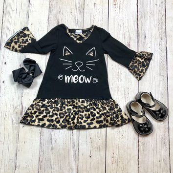 RTS Kitty Kat Meow Dress  D26