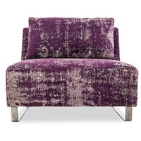 abcDNA Mysticism Purple Armless Chair