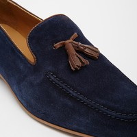 ASOS Tassel Loafers in Suede