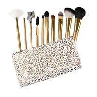 Makeup Brush Set With Brush Bags Top Quality Gold brushes