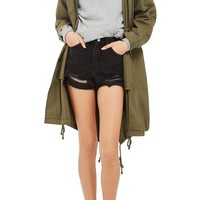 Topshop Ripped Mom Shorts   Nordstrom