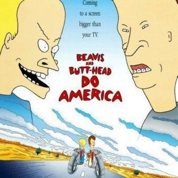 Beavis And Butthead poster Do America 16inx24in
