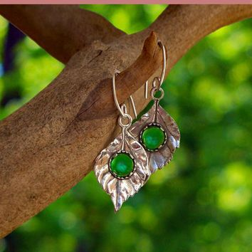 Leaves in Sterling Silver