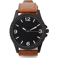 Matte Analog Watch