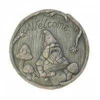 Welcome Gnome Stepping Stones