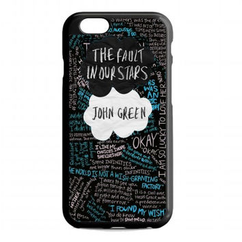 The Fault in Our Stars quote For iphone 6 case