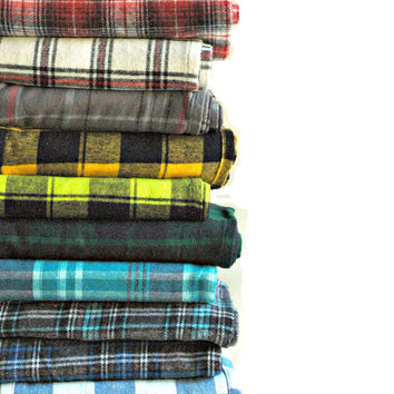 PICK 2 Flannel Infinity Scarves- Winter Flannel- Gift Set- Tartan and Buffalo Plaid- Circle Scarf- Buffalo Plaid- Plaid Tartan- Flannel