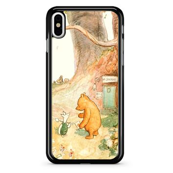 Winnie The Pooh Clasic iPhone X Case