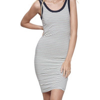 Willows Stripe Midi Dress | David Jones