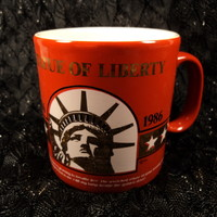 Statue of Liberty Anniversary Coffee Cup Vintage