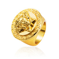 Medusa Gift Shiny New Arrival Stylish Jewelry Ring With Gift Box [9565012487]