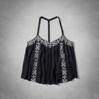Embroidered Tunic Cami