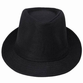 Hemp Cotton Trilby Hat