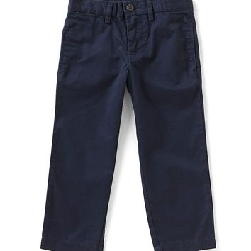 Ralph Lauren Childrenswear Little Boys 2T-7 Suffield Flat-Front Chino Pants | Dillards