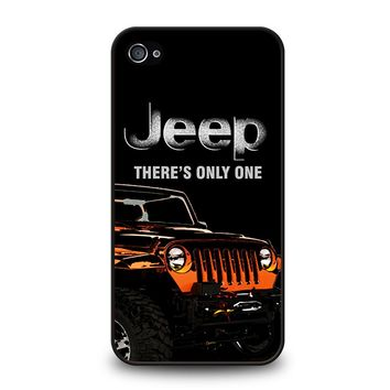 JEEP THERE'S ONLY ONE iPhone 4 / 4S Case